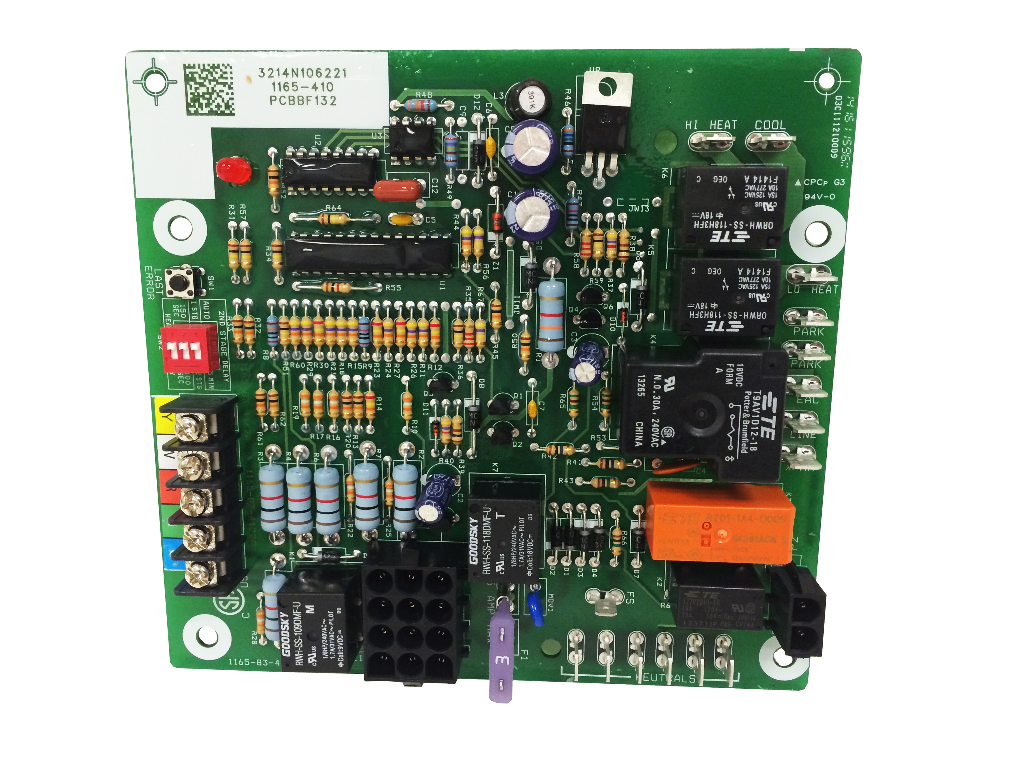 Circuit Board 2702382p Replacement Household Furnace Control Circuit